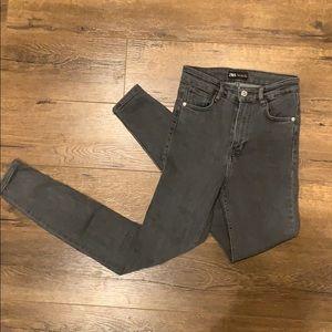 Zara Vintage Hi-Rise Skinny Jean
